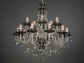 Chandelier Lotos CH15 black